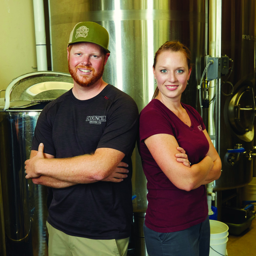 Curtis and Liz Chism of Council Brewing