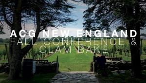 ACG New England Fall Conf