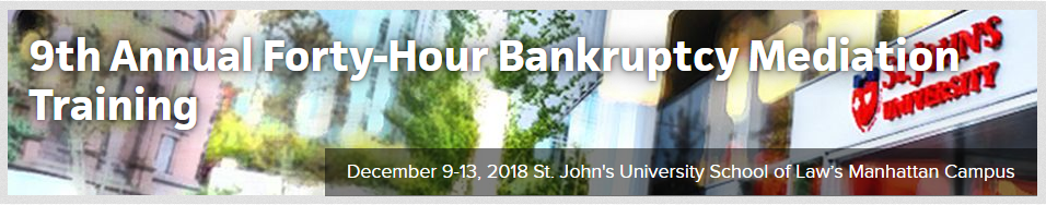 ABI 2018 40 Hour Bankruptcy Training