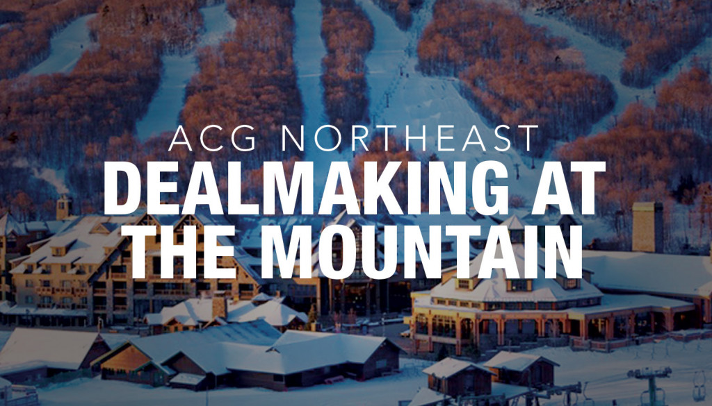 ACG 2019 NE Mtn Dealmaking
