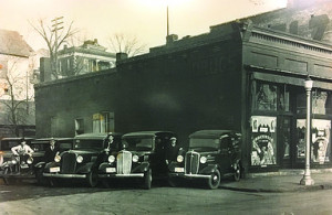 The original A.E. Wease trucks from the 1930s.