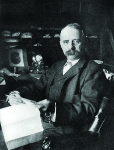 Edward Henry Harriman (pictured above right) bought the bankrupt Union Pacific railroad in 1897, and in 1901, he assumed control of the Central Pacific and Southern Pacific railways as well. The rebuilding of the three railways tracks followed, with improvements to hundreds of miles of track and signals to reduce grades, curvature and distance.