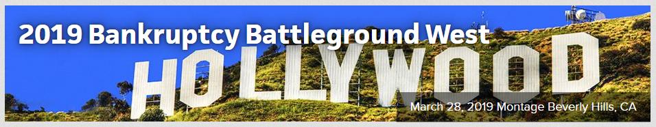 ABI 2019 Bakruptcy Battleground