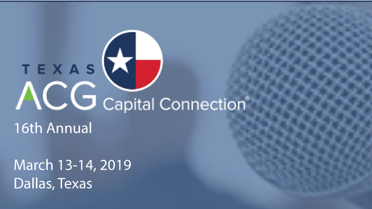 ACG 2019 Capital Connection