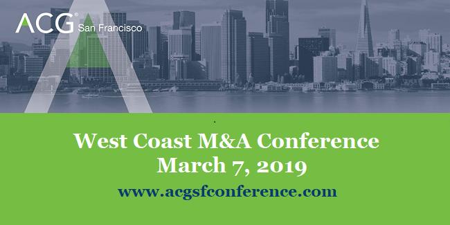 ACG 2019 West Coast M&A Conf