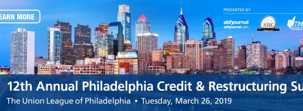 Philadelphia Credit & Restructuring Summit
